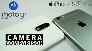 Moto G4 Plus vs iPhone 6S Plus -CAMERA Comparison!  [4K]
