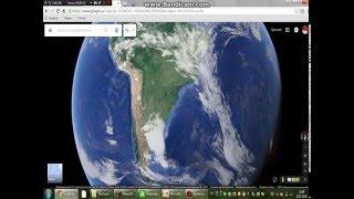 Самые большие города мира в Google карты
