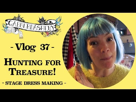 Hunting for Treasure - Inspiration for making Stage Dresses! Vlog 37
