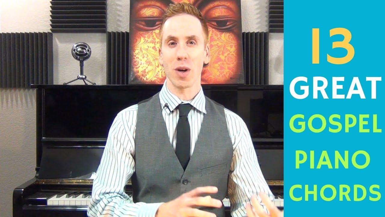 13 Gospel Piano Chords + 1 Must Have Progression | Free Jazz
