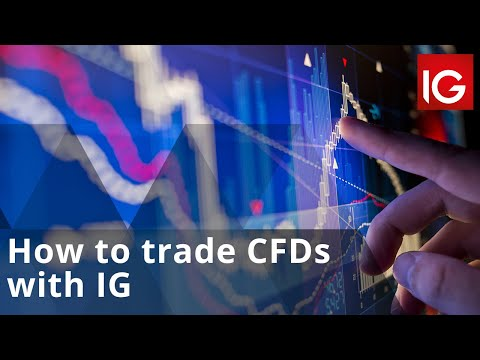 How To Trade CFDs With IG