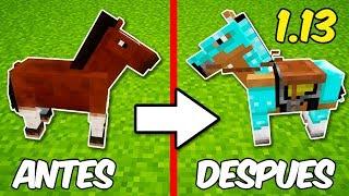 Minecraft | Nueva Actualización 1.13 con NUEVOS CABALLOS y más!!