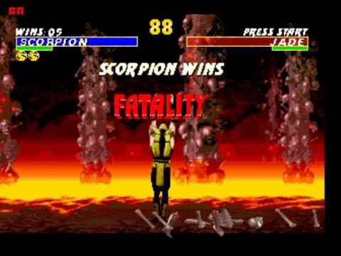 Быстрое прохождение Mortal Kombat 3 Ultimate(Скорпион)Режим-HARD!