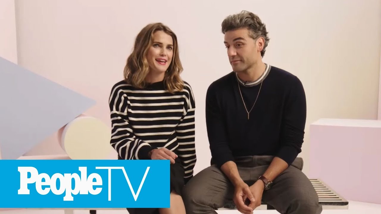 Keri Russell Oscar Isaac On Her The Rise Of Skywalker Character Zorri Bliss Peopletv Youtube