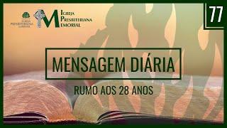 Mensagem Diária - Rev. Jason Queiroz