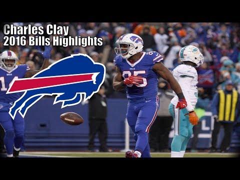 Charles Clay 2016 Buffalo Bills Highlights