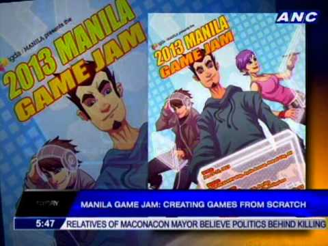 Manila Game Jam 2013: Creating games from scratch