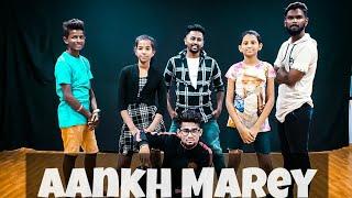 SIMMBA : AANKH MAREY | RANVEER SINGH |SARA ALI KHAN |R.A.J DANCE STUDIO |