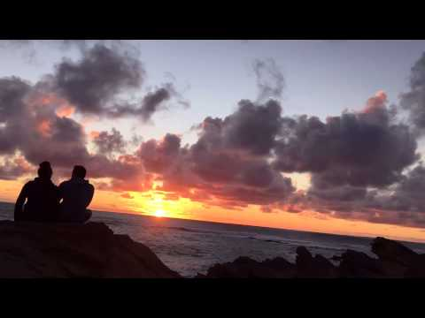 Romantic Australian Sunset | Great Ocean Road | Time lapse