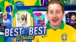 IS BRAZIL THE BEST?! THE BEST BRAZILIAN FUT DRAFT CHALLENGE! FIFA 19 Ultimate Team