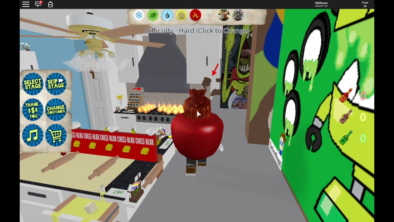 I Don T Know If I Can Win This Roblox Escape The Amazing - Hard Mode Roblox Escape The Amazing Kitchen Obby Nightcore