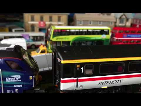 Oxford Rail MK3a Intercity Swallow Coaches 00 Gauge In Depth Review Brand New Release