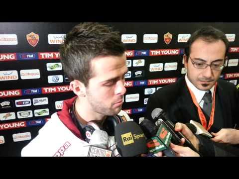 Coppa Italia, Roma-Atalanta: Pjanic in mixed zone 11.12.12