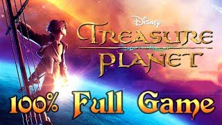 Treasure Planet Walkthrough FULL GAME Longplay (PS1) 100% collectibles