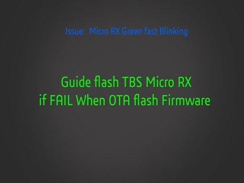 Fix Micro RX when failing with OTA update Firmware (Binding)