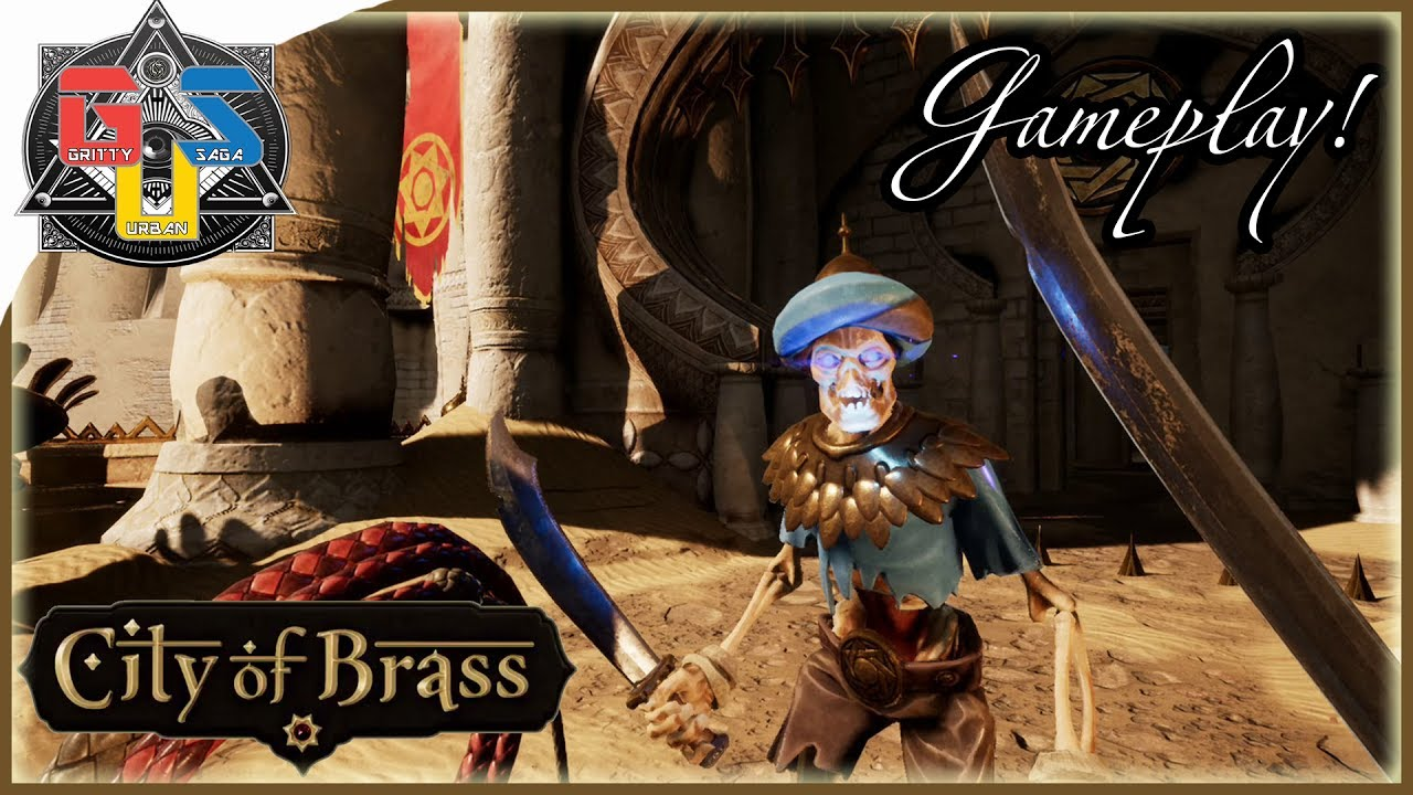 CITY OF BRASS Gameplay Trailer - First Person Hack And Slash BIOSHOCK  DEVELOPER! PS4 XBOX One PC