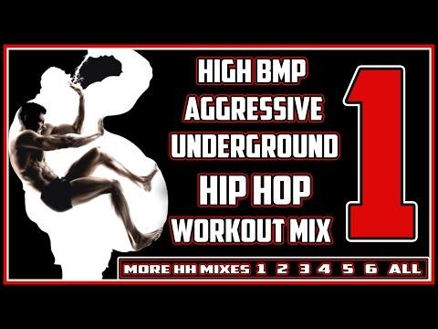 [1of6] High BPM Aggressive Underground Hip Hop Workout Mix