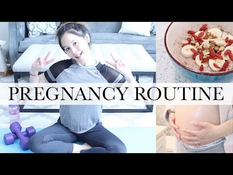 TIPS FOR A HEALTHY PREGNANCY: What to eat during pregnancy +  Exercise