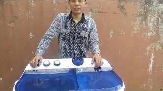 Cara pengoperasian mesin cuci 2 tabung yang benar