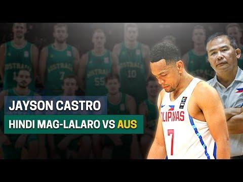 Castro, Hindi Pala Mag-Lalaro vs Australia   Final 12 Announced
