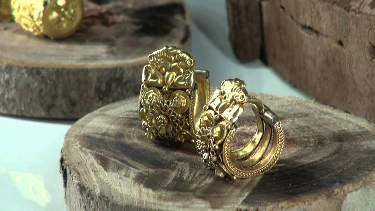 Raccontare i gioielli Etruschi