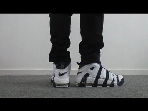 low priced 886d5 1f64a on feet Nike Air Max More Uptempo Olympic 1996 FlammableSneakers