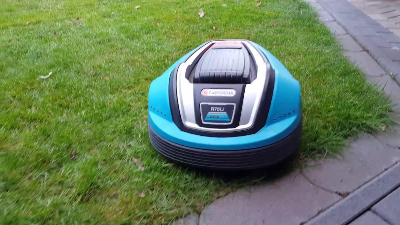 Beliebt Bevorzugt Bremslicht Test Gardena R70Li mit Robonect Wifi Modul - YouTube @CZ_13