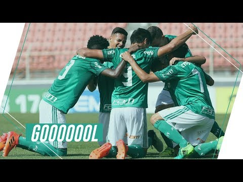 Gols - Palmeiras 4x1 Flamengo - Copa do Brasil Sub-17