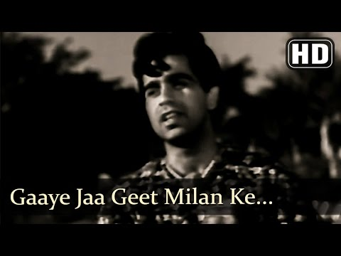 Gaaye Jaa Geet Milan Ke (HD) - Mela Songs - Dilip Kumar - Nargis - Mukesh - Filmigaane