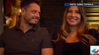 Javier 'Chicharito' Hernández y su novia Sarah Kohan anuncian que serán padres