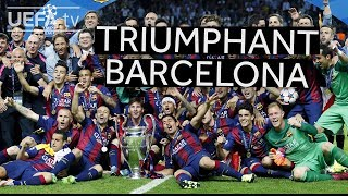 Highlights: Barcelona win the 2015 UEFA Champions League in Berlin