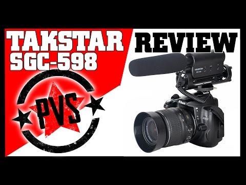 Takstar SGC-598 Shotgun Microphone Review