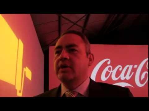 Primeras declaraciones del nuevo director general de Coca Cola Iberia
