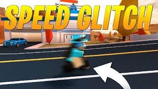 NEW SPEED GLITCH IN JAILBREAK! (Roblox)