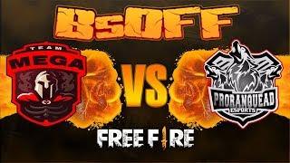 [🔴 LIVE] FREE FIRE ~ CAMPEONATO BsOFF🔥MEGA SPORTS VS. PRO RANQUEAD🔥INSANIDADE TOTAL