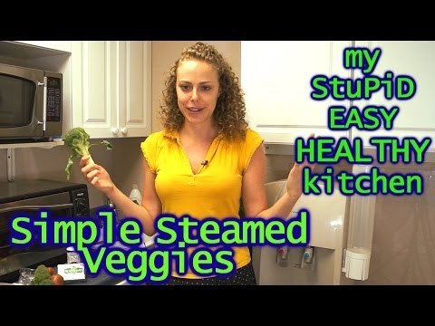 How To Steam Vegetables Stupid Easy Healthy Cooking Show With Corrina Rachel