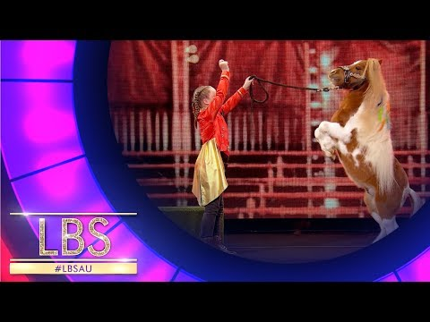 Meet Bella, The Incredible Circus Performer | Little Big Shots Australia