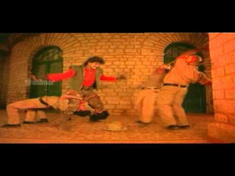 Aakhari Poratam Movie Climax Fight    Nagarjuna , Sridevi , Suhasini