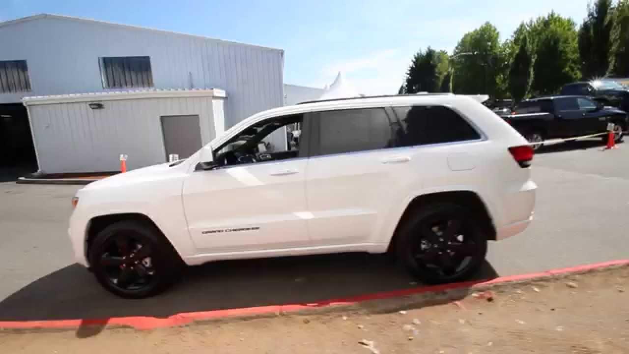 2015 Jeep Grand Cherokee Laredo Altitude Bright White
