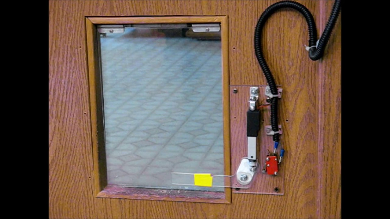 Remote Control Pet Door Lock Youtube
