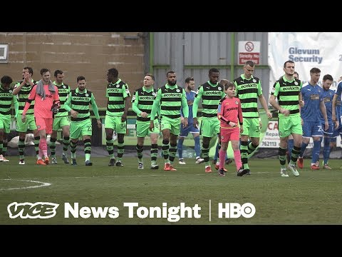 The Forest Green Rovers Are The World's Only Vegan Football Team (HBO)