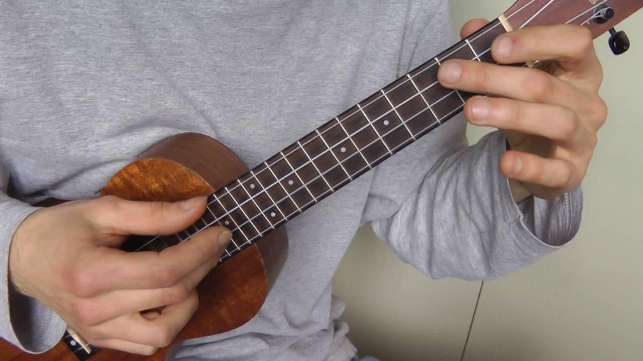 how to play god save the queen on ukulele