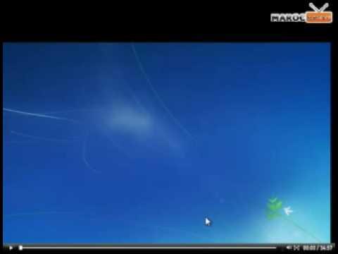 tutorial Installation et présentation de Windows 7 RC part 1/4