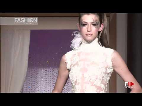 ERIC TIBUSH Spring Summer 2013 Paris Haute Couture - Fashion Channel