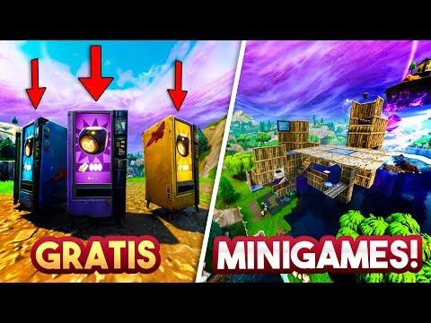 GRATIS FORTNITE MINIGAMES!! - Fortnite Playground (Nederlands)