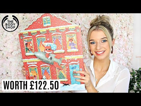 THE BODY SHOP ADVENT CALENDAR 2019 / *EXCLUSIVE /DELUXE SIZE*