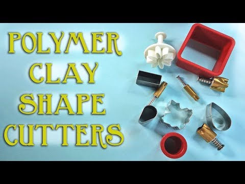 Polymer Clay Tools: Shape/Cookie Cutters Review