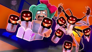 MY SECOND DAY IN THE SCHOOL OF TERROR IN ROBLOX!