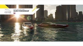 Моторный катер Jaguar Vector V40R Powerboat 2018 в новом трейлере игры The Crew 2!