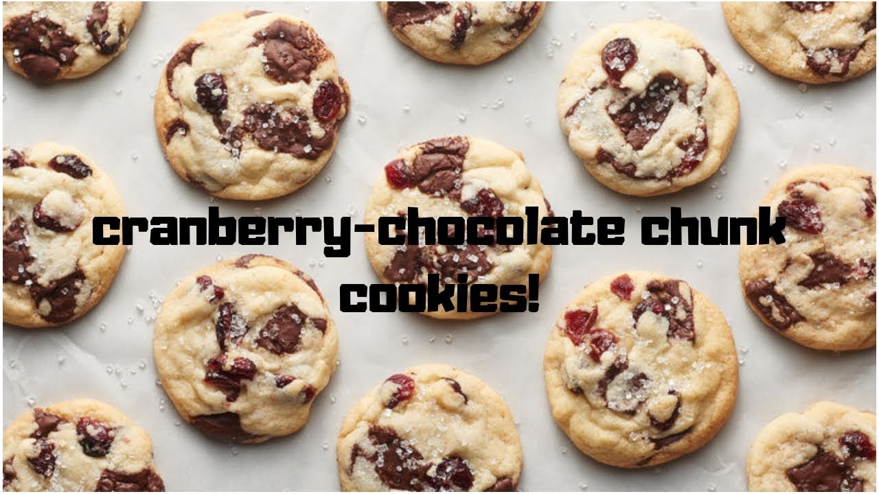 24 Days Of Cookies Vlogmas Day 4 Betty Crocker S Cranberry Chocolate Chunk Cookies